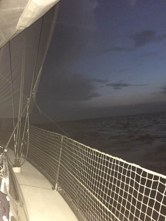Nacht zee