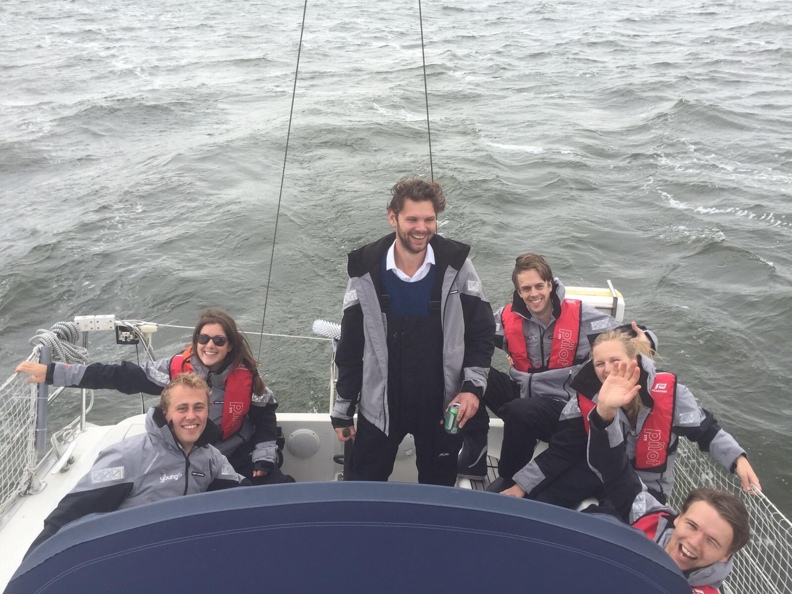 ROTC 2015 zeilboot pre race